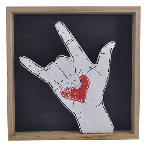 Love Finger Sign