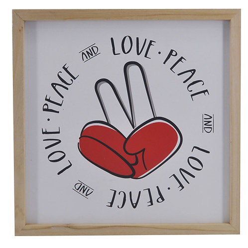 Love/Peace Finger Sign