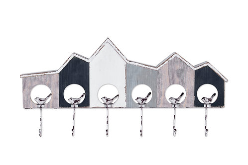 Harbour Wall Décor With Hooks