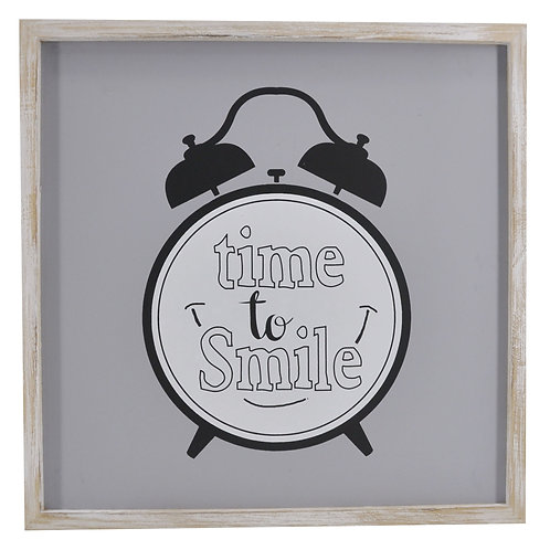 Time to Smile Wall Art