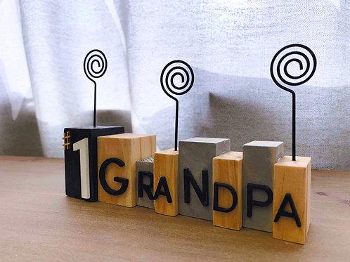 #1 Grandpa Photo Holder