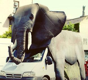 Elephant by Ana Colomer and Tiarnan O Ruairc (AKA Tic Toc Puppets)
