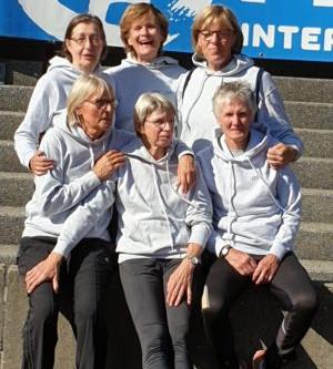 Deutscher Vize-Meister in der Altersklasse W60