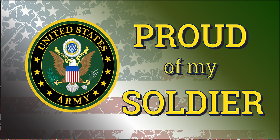 Proud Military Banner