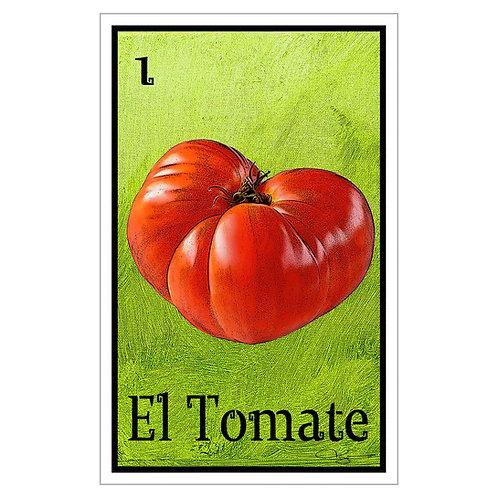 """El Tomate - 16"""" x 25.27""""  Canvas print"""