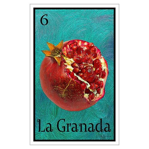 "La Granada - 16"" x 25.27""  Canvas Print"