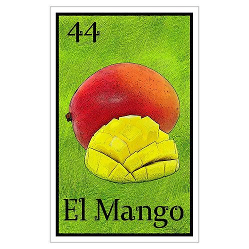 """El Mango - 16"""" x 25.27""""  Canvas Print"""
