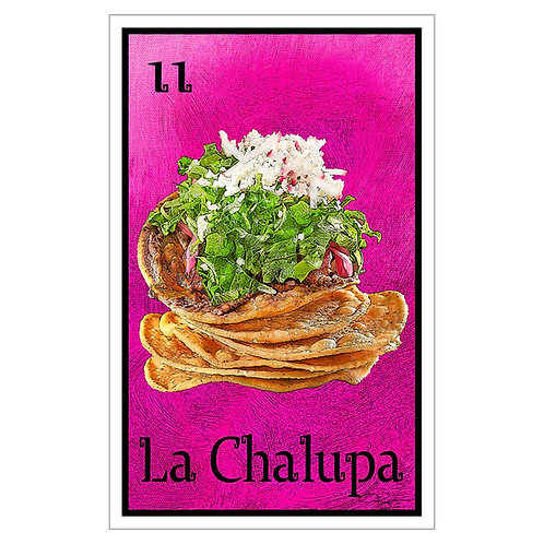 "La Chalupa - 16"" x 25.27""  Canvas Print"