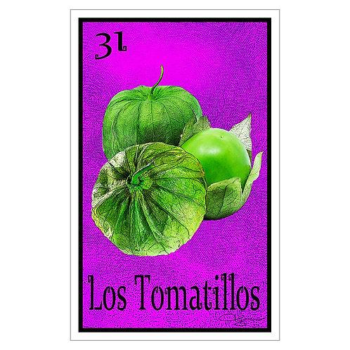 """Los Tomatillos - 16"""" x 25.27""""  Canvas Print"""