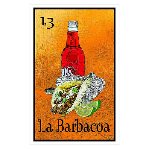 "La Barbacoa - 16"" x 25.27"" Canvas Print"