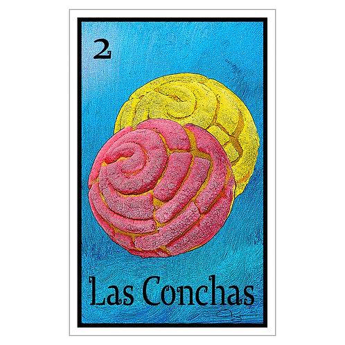 """Las Conchas - 16"""" x 25.27""""  Canvas Print"""