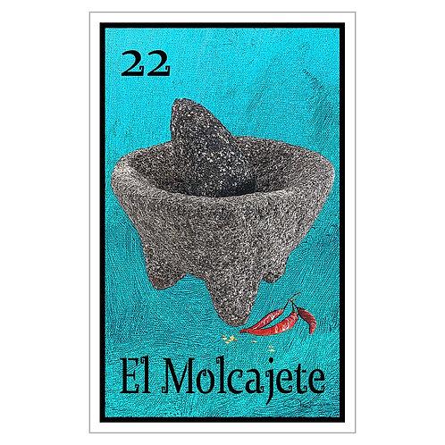 """El Molcajete - 16"""" x 25.27""""  Canvas Print"""