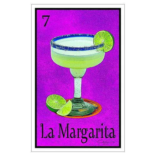 """La Margarita - 16"""" x 25.27""""  Canvas Print"""