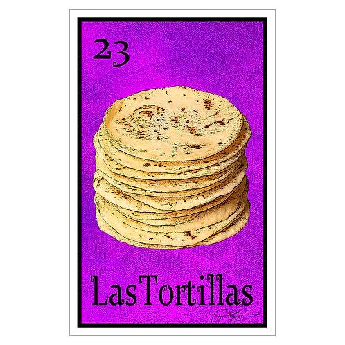 """Las Tortillas - 16"""" x 25.27""""  Canvas Print"""
