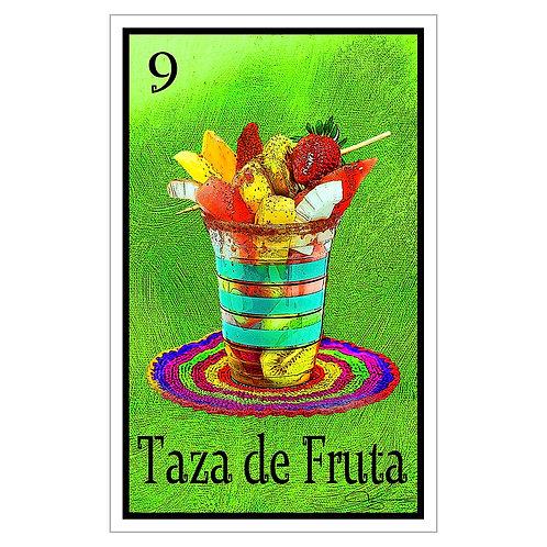 """Taza de Fruta - 16"""" x 25.27""""  Canvas Print"""