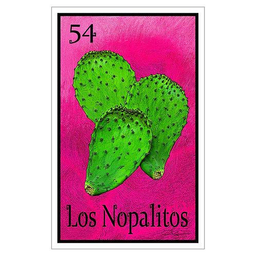 """Los Nopalitos - 16"""" x 25.27""""  Canvas Print"""
