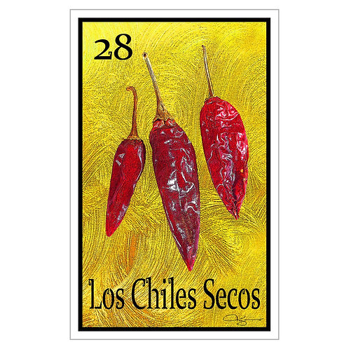 """Los Chiles Secos - 16"""" x 25.27"""" Canvas Print"""