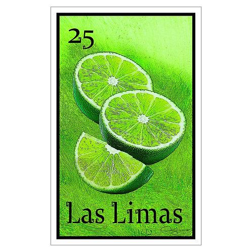 "Las Limas - 16"" x 25.27""  Canvas Print"