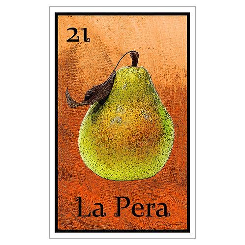 """La Pera - 16"""" x 25.27""""  Canvas Print"""
