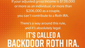 Financial Planning 101 - Backdoor Roth Conversions
