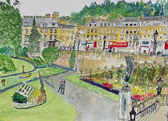 Parade Gardens, Bath (Ba-4)