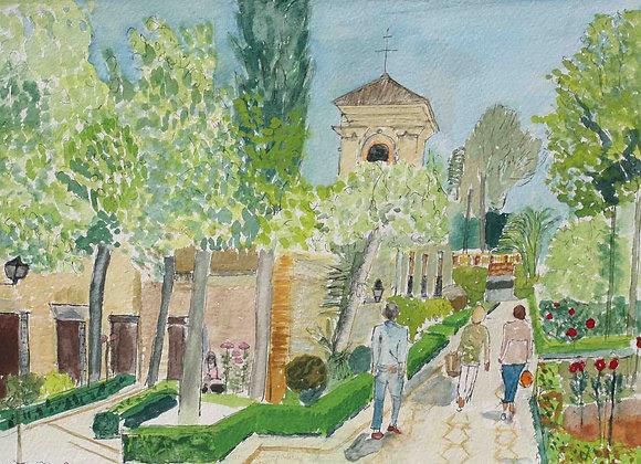 265 - The Parador, The Alhambra, Granada