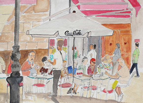 262 - Coffee Shop, Malaga