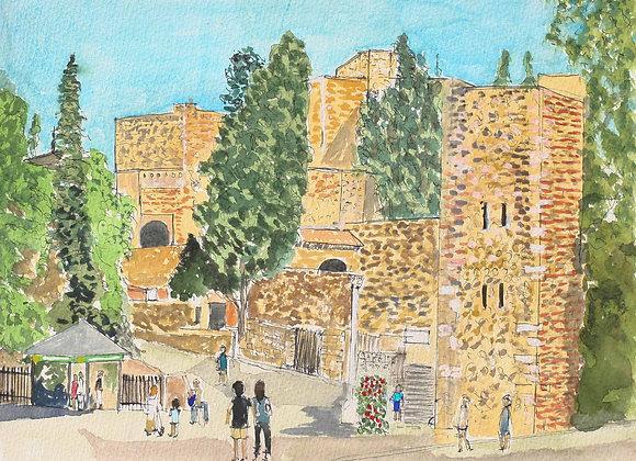 284 - Malaga Castle
