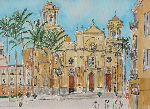 Cadiz Cathedral (Ca-1)