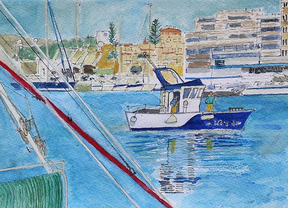 Fisherman Return, Estepona (M-12)