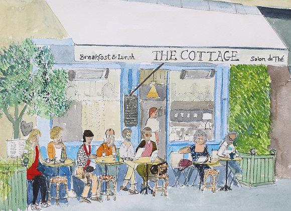 Cafe , 7th Arr. Paris (H&T Fr-02)