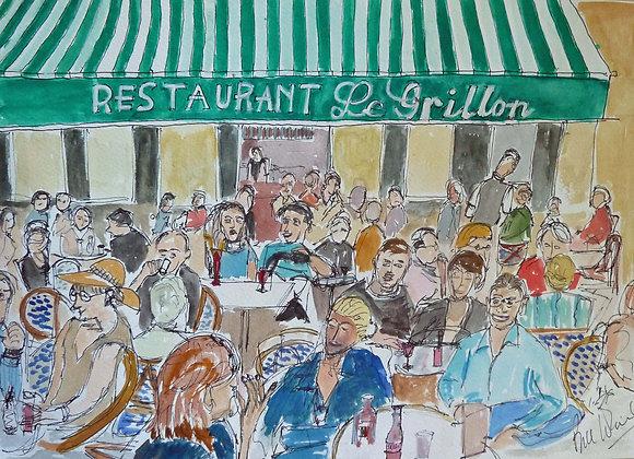 Restaurant Le Grillon, Aix en Provence (Sth-4)