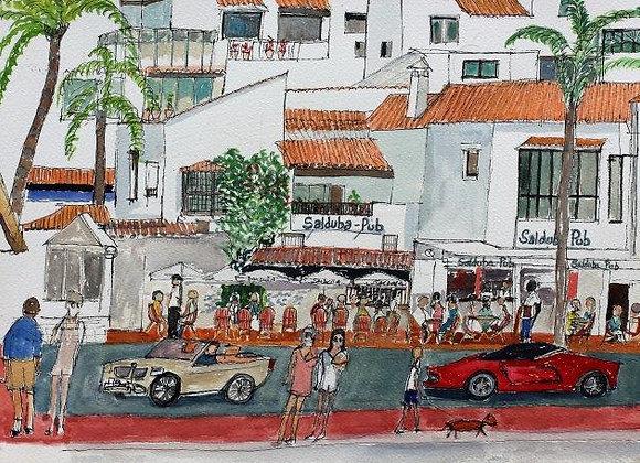 Bar Saluda, Puerto Banus  (M-08)