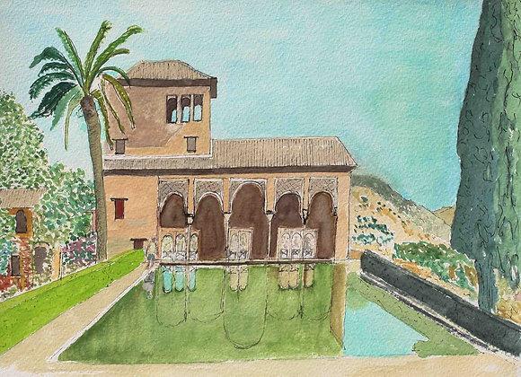 263 - El Patal, The Alhambra, Granada