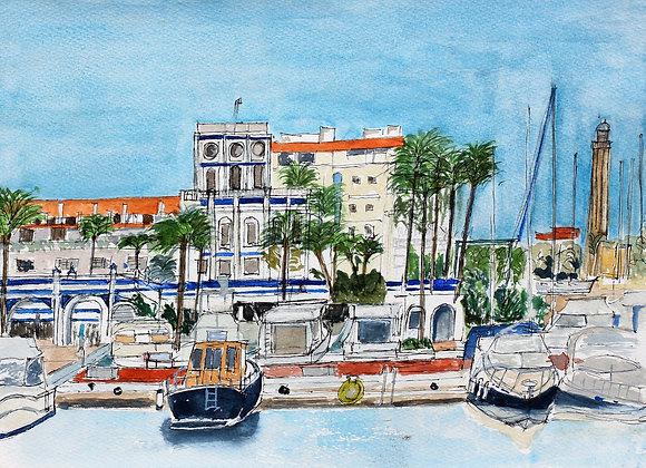 Estepona Harbour  (M-11)