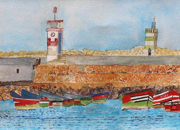 El Jadida harbour entrance (Mar 2)