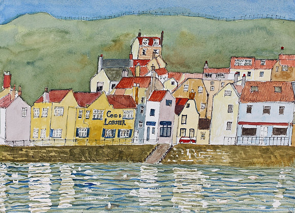 Staithes, Yorkshire (St-6)