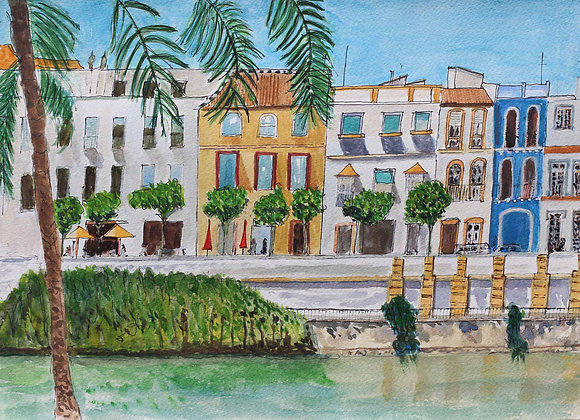 257 - By the River Guadalquivir, Seville