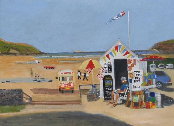 Harlyn Bay, Cornwall