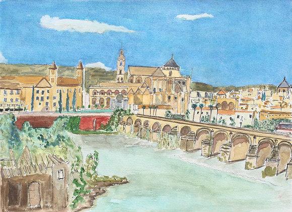 256 - The Roman Bridge, Cordoba