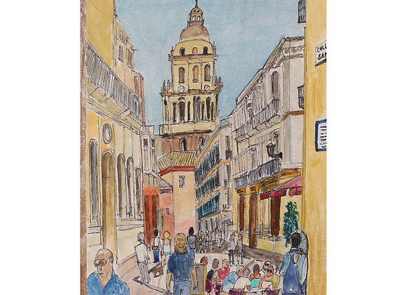 Back street, Malaga (M-3)