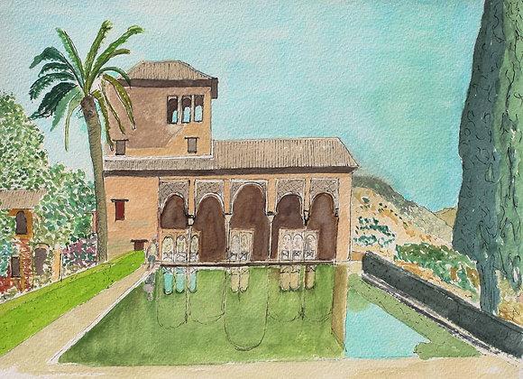 263 - E Patal, The Alhambra, Granada