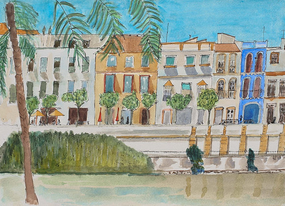 257 - By the Guadalquivir, Seville