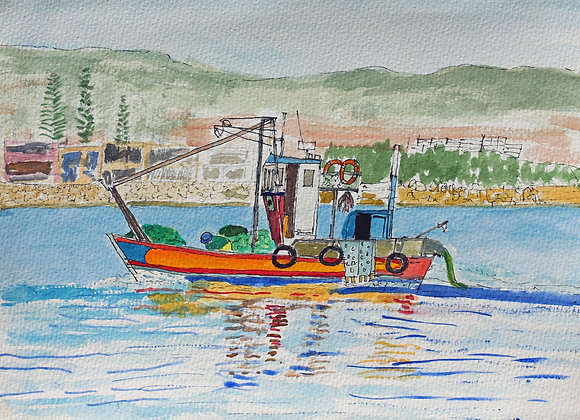 Fishermen passing by Sotogrande (S 27)