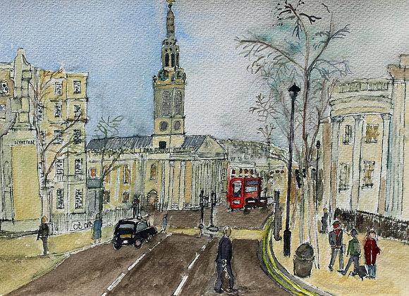 St Martin's in the Field, Trafalgar Square