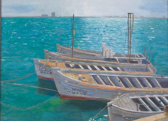Tuna Boats at Barbate, Andalucia
