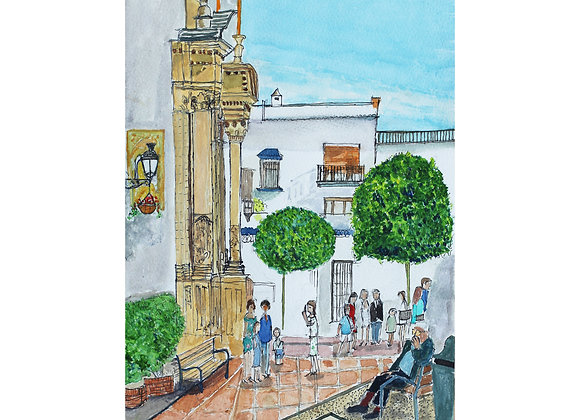 1st Communion, Old Town, Marbella (M-1)
