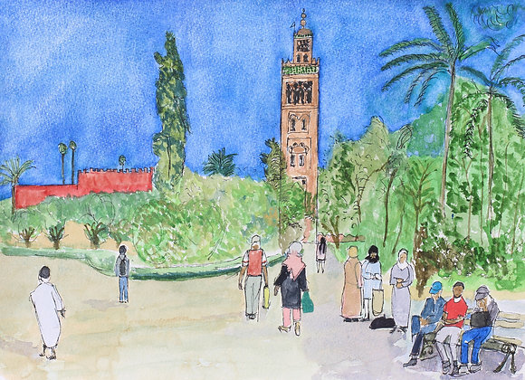 Park Lala Hasna, Marrakech  (Mar-1)