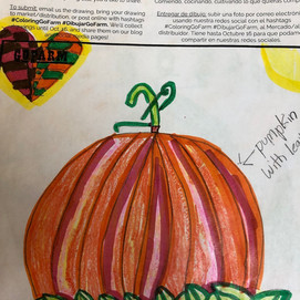 Draw Your Favorite Veggie! GoFarm Coloring Contest