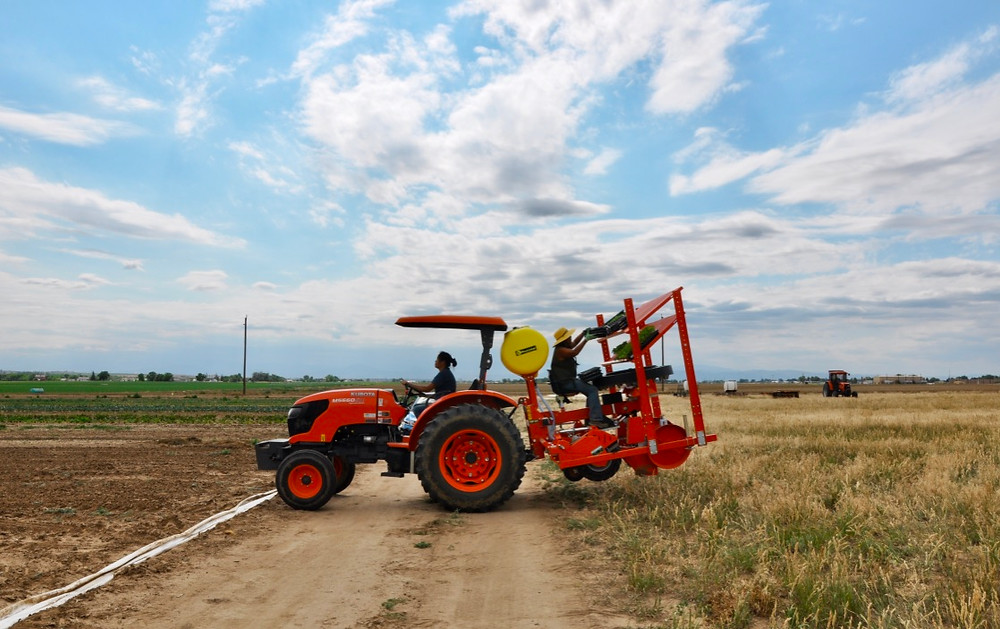 Hoffman Farms - Seeding the Fields